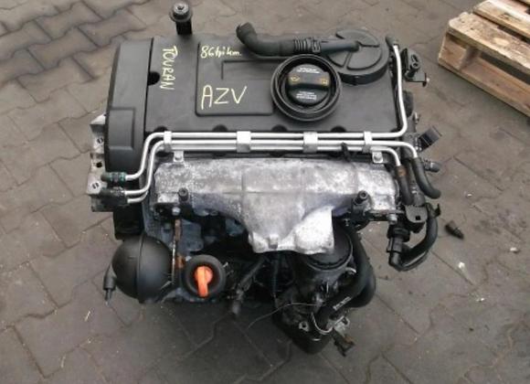Moteur complet Volkswagen Touran 2.0 TDI AZV