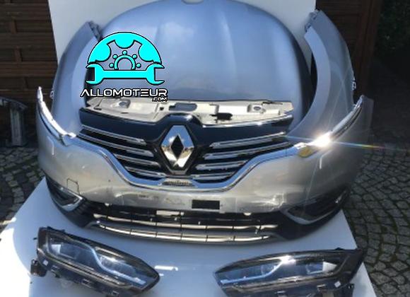 Face avant complète Renault Espace V Initiale Paris