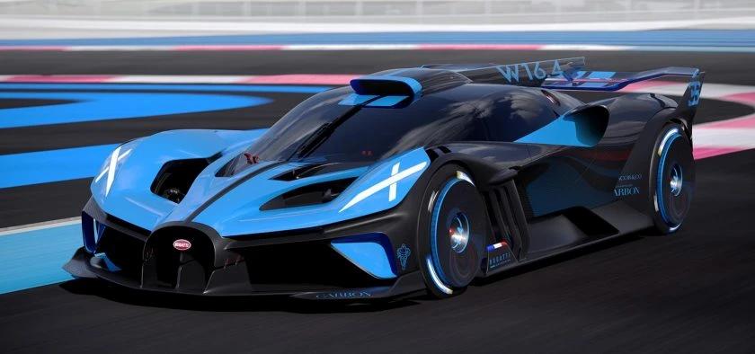 Bugatti lève le voile sur son hypercar Bolide