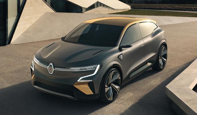 Renault Mégane eVision : La future Mégane électrique