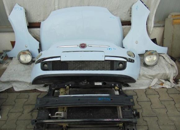Face avant complète Fiat 500