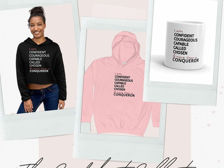 Introducing the New Confident Collection Merchandise