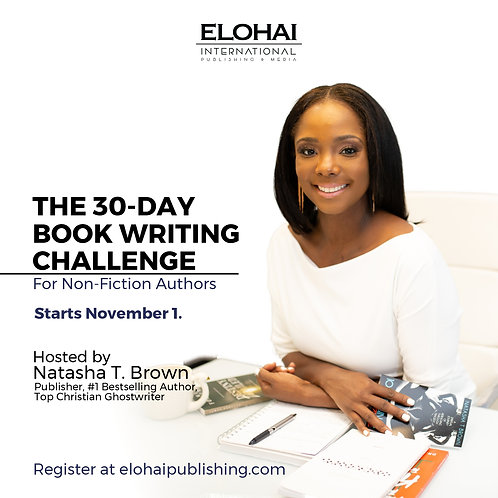 30-Day Book Writing Challenge