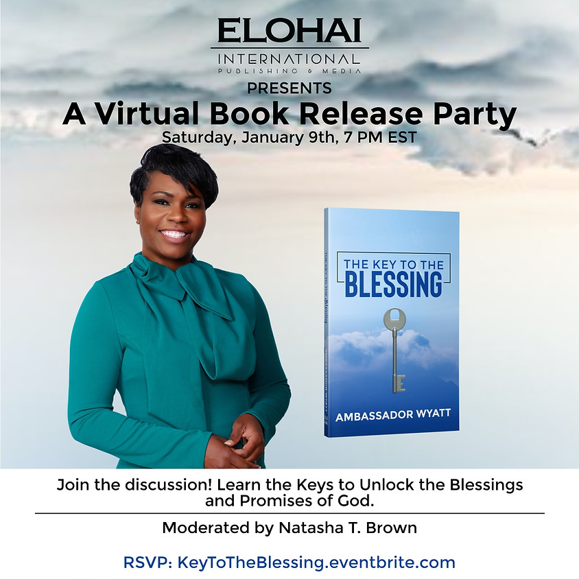 The Key to the Blessing Book Launch