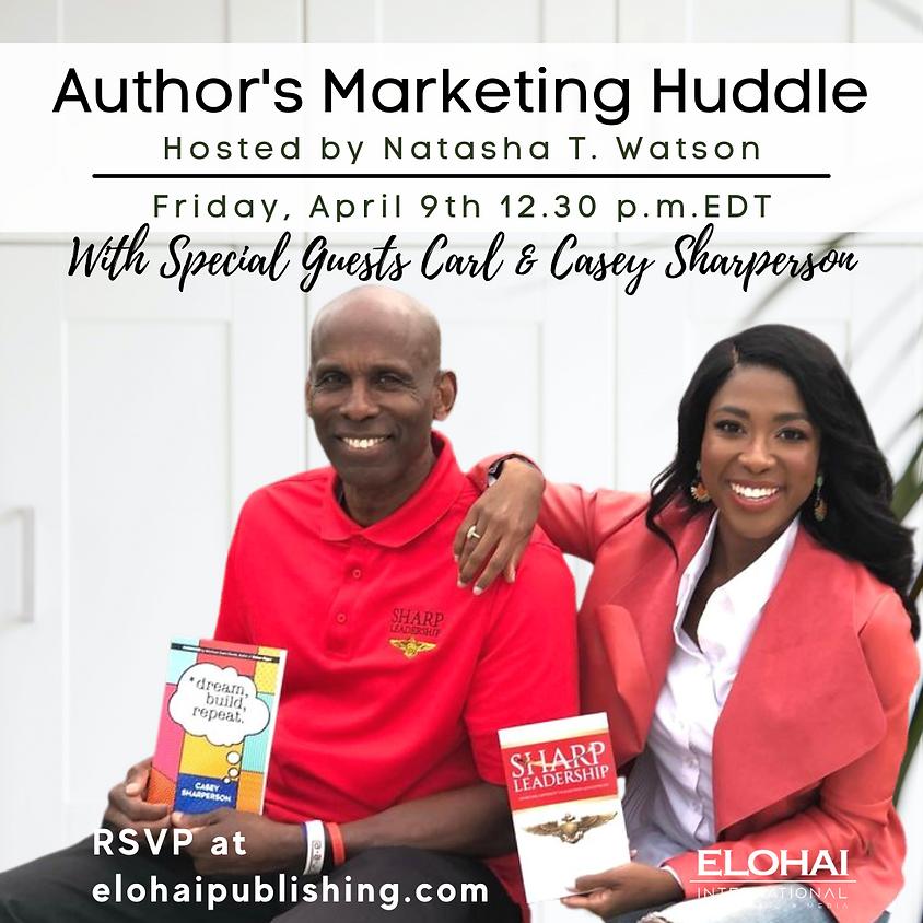 Author's Marketing Huddle