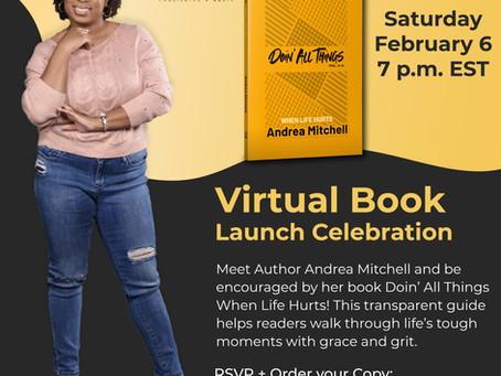 New virtual Book Launch Celebration