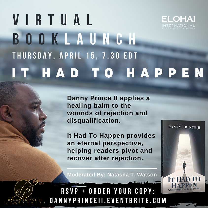 It Had to Happen Virtual Book Launch