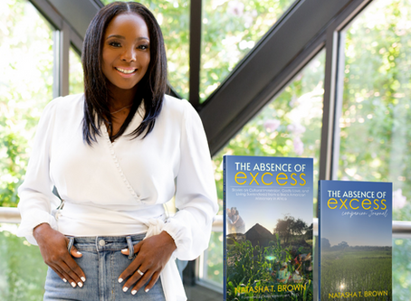 natasha t. brown releases new book: The absence of Excess