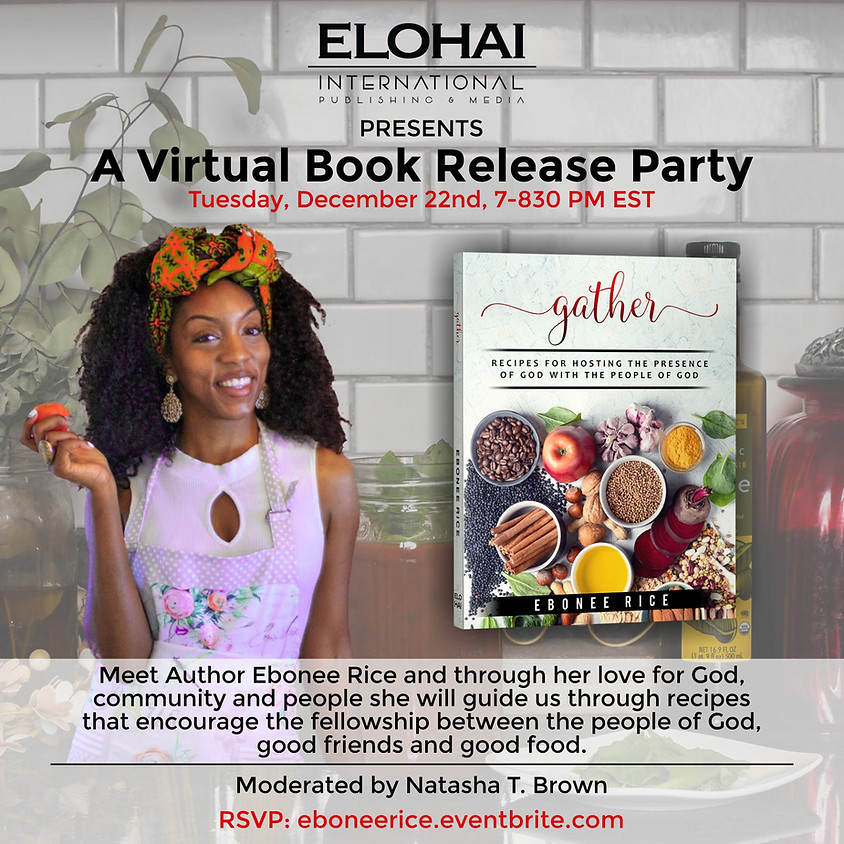 Gather Virtual Book Release Party