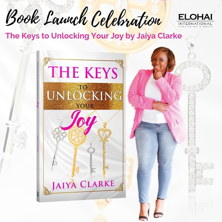 The Keys to Unlocking Your Joy Book Launch Celebration