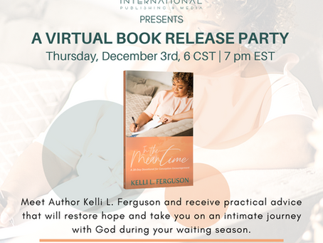 Book Release Party for In The Meantime by Kelli Ferguson