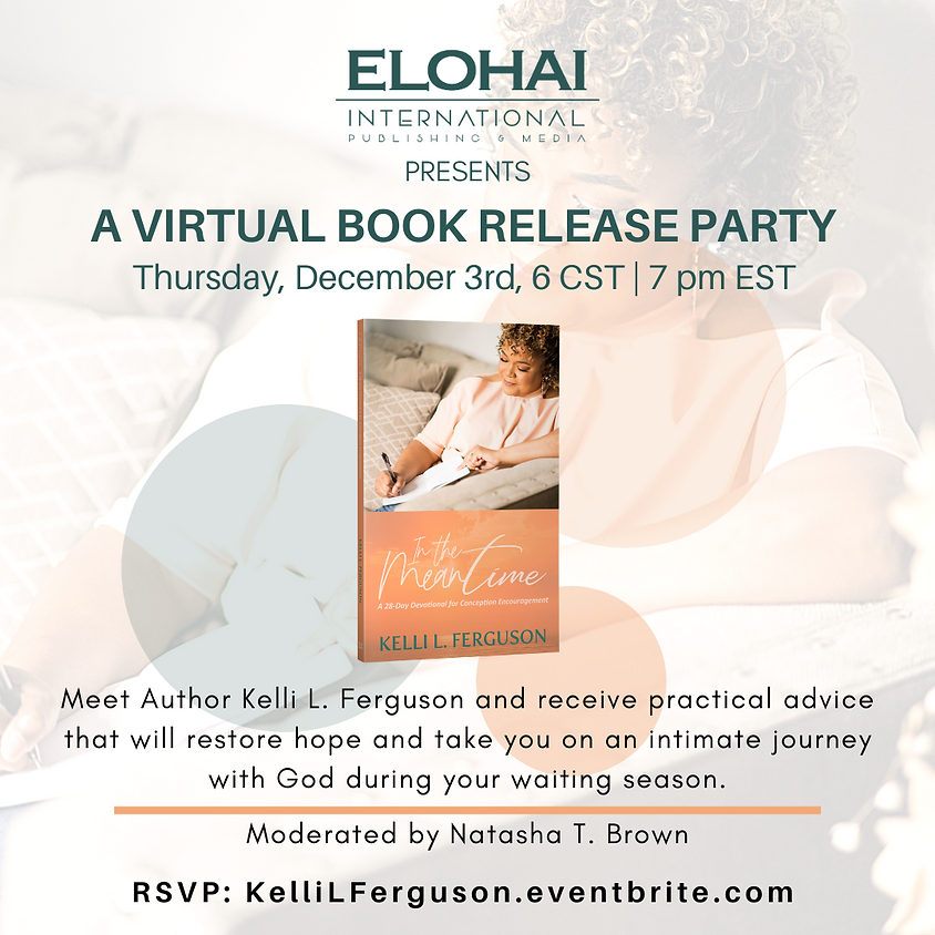 In The Meantime Virtual Book Release Party