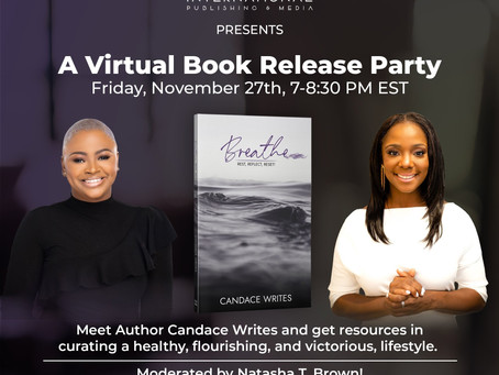 Book Release Party for Breathe by Candace Writes