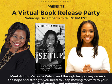 Virtual Book Release Party