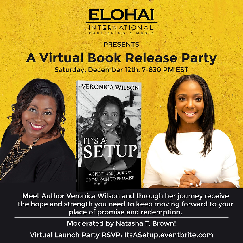 It's A Setup Virtual Book Release Party