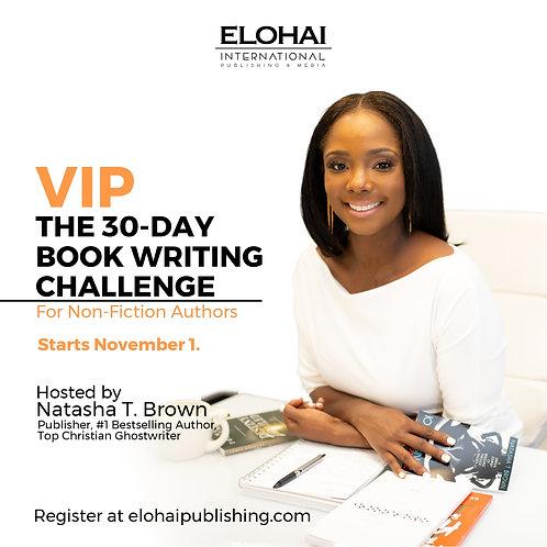 VIP 30-Day Book Writing Challenge