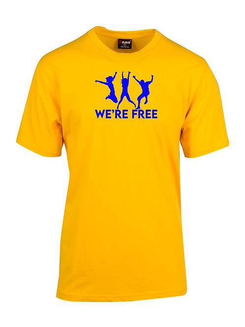 WE'RE FREE