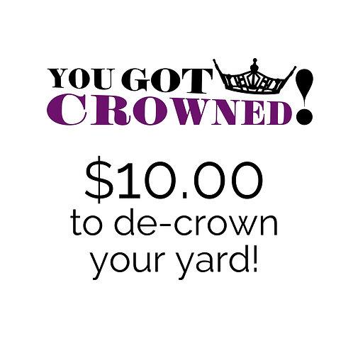 De-Crown Your Yard