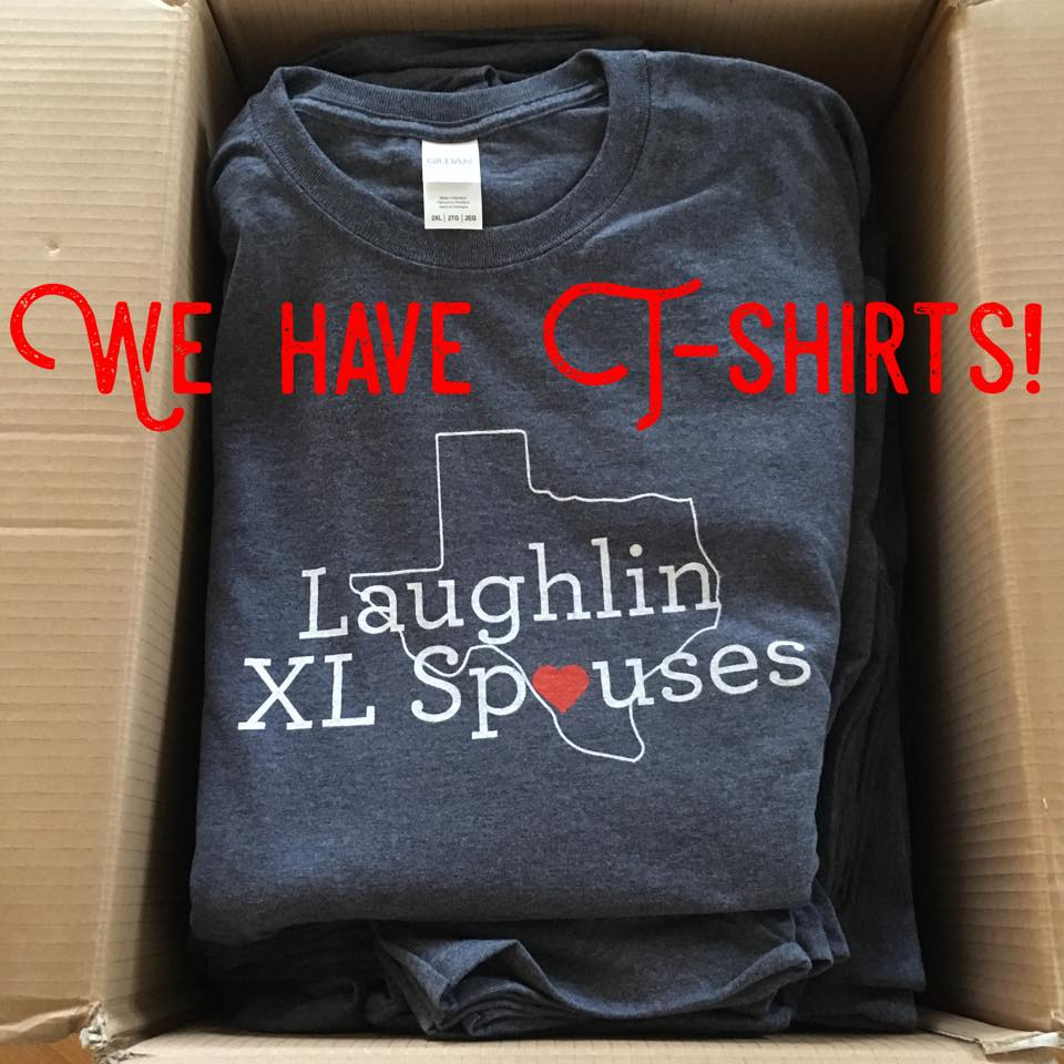 Laughlin XL Spouses Shirts