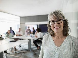 Senior Forretningskvinde