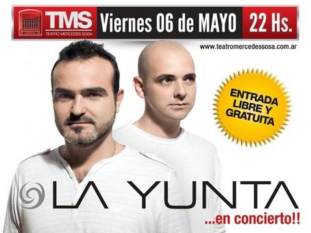 Dúo la Yunta en el Teatro Mercedes Sosa de Tucumán