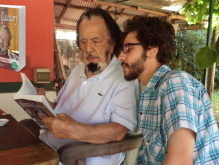 Presentación de novela biográfica de Horacio Guarany