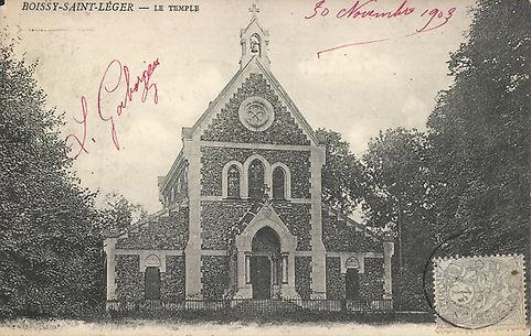 Photo du temple de Boissy-Saint-Léger en 1903