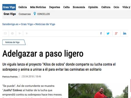 Entrevista en el Faro de Vigo