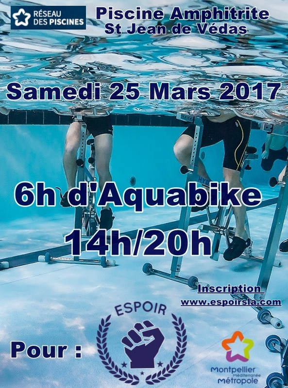 6h Aquabike le Samedi 25 Mars