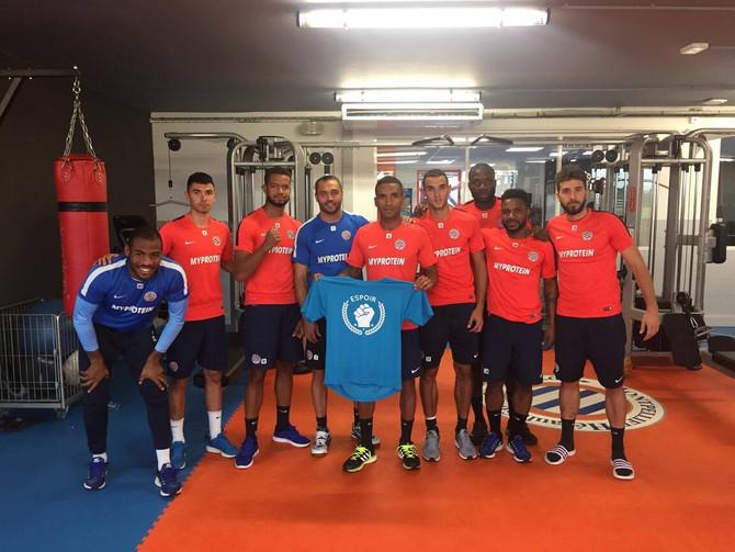 Le Montpellier Hérault Sport Club à nos côtés