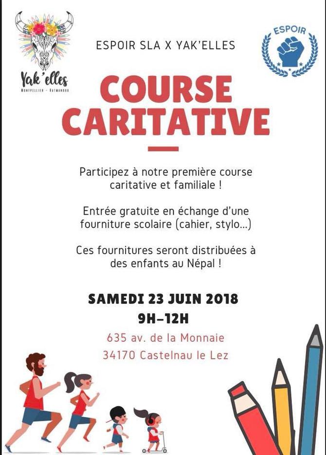 Une course Caritative