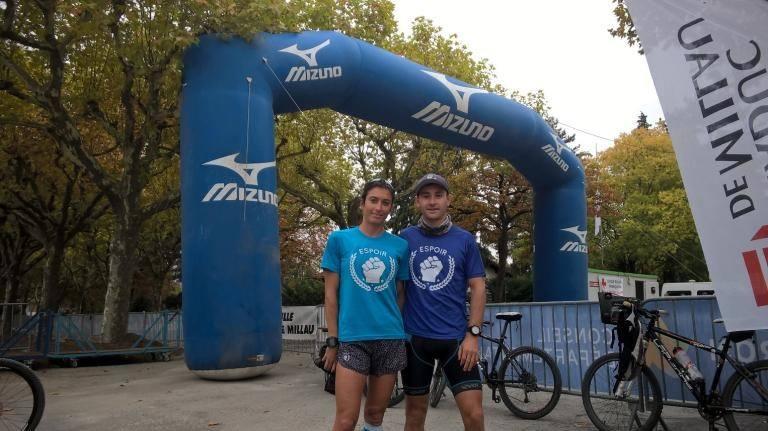 Jen et Matt 100km de Millau <3