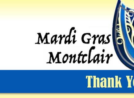 Mardi Gras in Montclair? Yes, we did!
