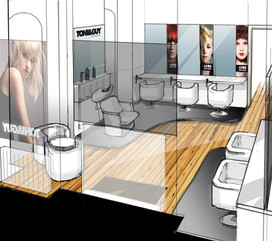 Toni & Guy - London Fashion Week exhibition concept and build