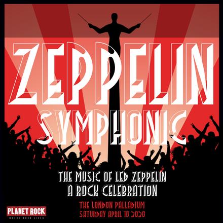 TBI Media - Artwork design for the Led Zeppelin Symphonic - various social media platforms