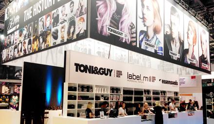 Toni & Guy - Salon International concept design