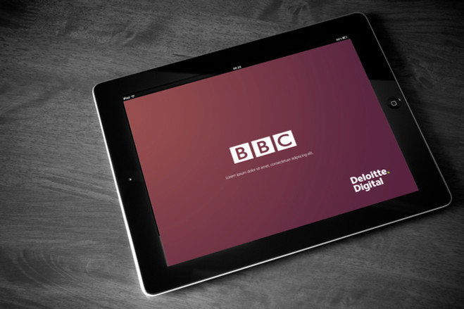 myBBC - ibook for Deloitte's successful pitch to the BBC