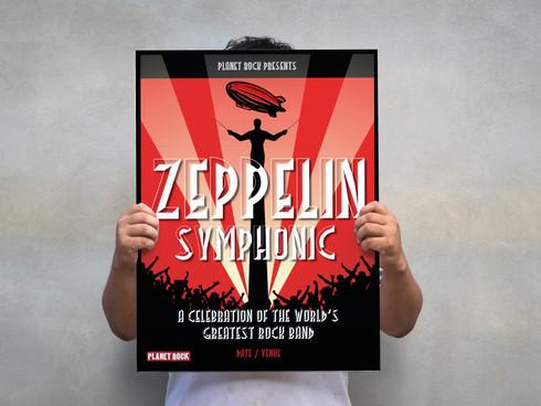 Led Zeppelin Symphonic artwork