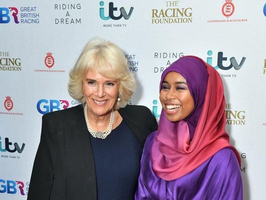 TBI Media - Design and visuals for the ITV Premiere of Riding A Dream, at the Ritzy Brixton, London.