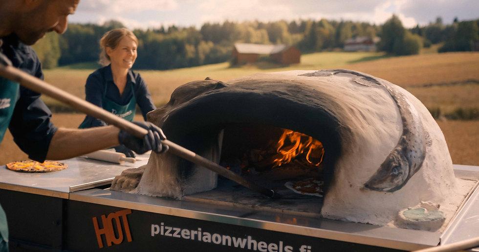 Pizza uuni catering
