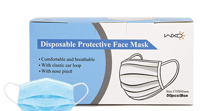 disposable mask product sale image