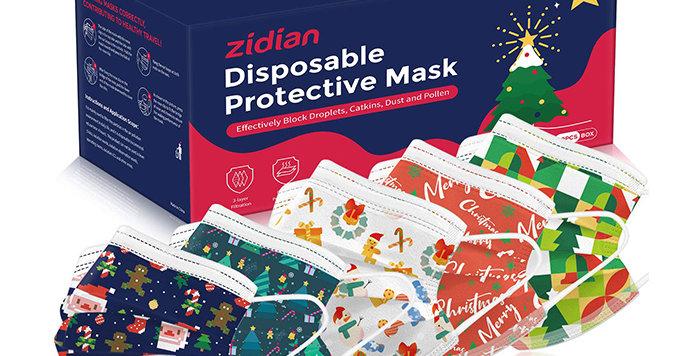 christmas disposable mask for sale - ppe - USA
