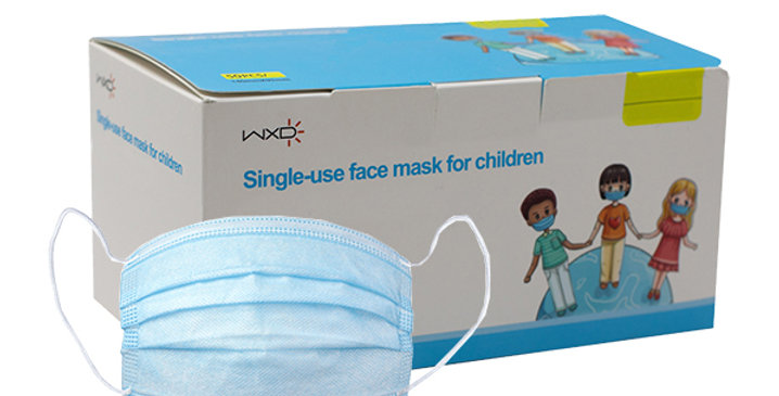 kids disposable face mask product for sale
