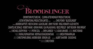 BLOODSLINGER