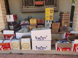 """חלוקת סלי מזון בחג השבועות תשפ""""א"""