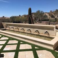 Front Courtyard Wall Fountain