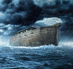 The flood of Noah and the number seventeen