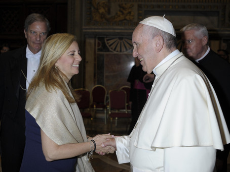 HealRWorld CEO Meets Pope Francis