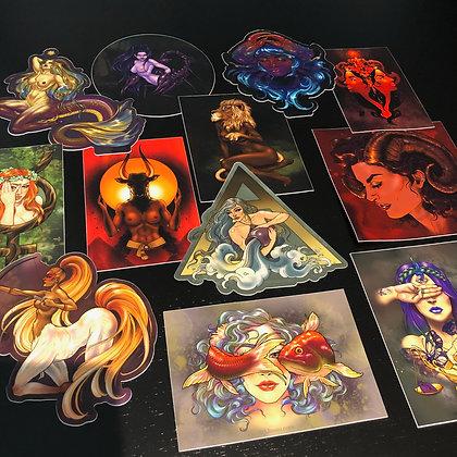 Zodiac Sticker Pack