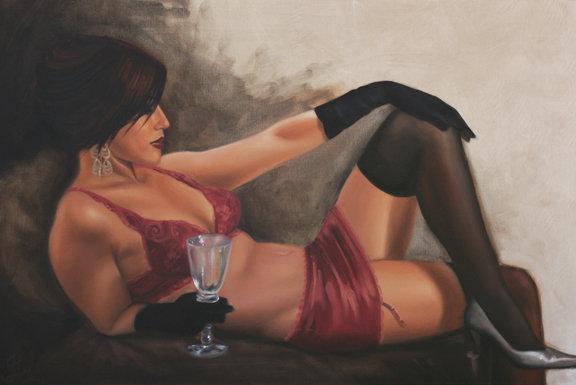 The Empty Wine Glass